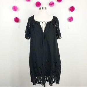 MICHAEL Michael Kors Black Tunic Dress Lined XS